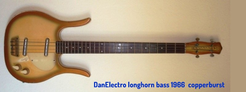 Dan electro longhorn bass 1966 copperburst